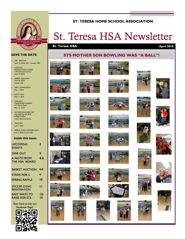 April 2018 STS Newsletter copy